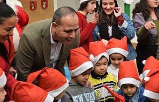 LTB El Ele Çocuk Merkezi'nde yeni yıla merhaba...