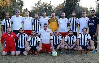 Meclis Futbol takımı, KİKEV takımı ile maç yaptı