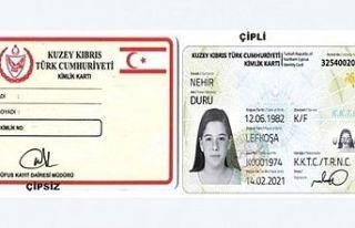 """""""Sağlam kimlik kartları geçerliliğini korumaktadır"""""""