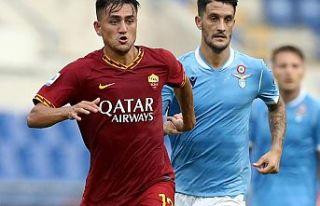 Cengiz Ünder, Roma derbisinde maçın oyuncusu oldu