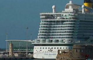 Cruise gemisi karantina altına alındı