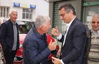 Erhürman, Bostancı'yı ziyaret etti
