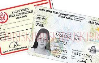 Kimlik kartı harçları zamlandı
