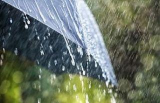 Pazar gününe kadar sağanak yağmur bekleniyor