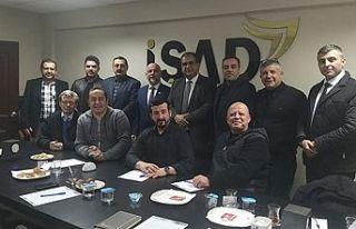Sucuoğlu İŞAD Yönetim Kurulu toplantısına katıldı