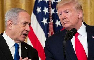 Trump'ın sözde barış planı Netanyahu'ya...