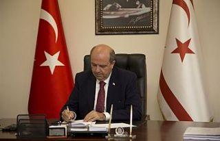 Başbakan Tatar, Regaip Kandili dolayısıyla mesaj...
