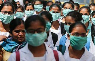 Dünya Genelinde Yeni Tip Koronavirüs bulaşan kişi...