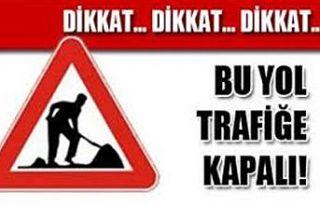 Girne Yeni Liman Çemberi yarın trafiğe kapatılacak