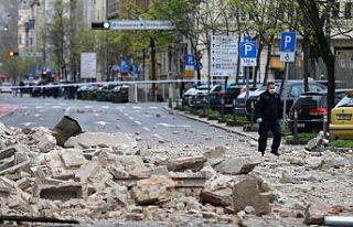 Hırvatistan'da 5,3 büyüklüğünde deprem:...