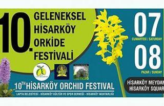 Hisarköy Orkide Festivali hafta sonu