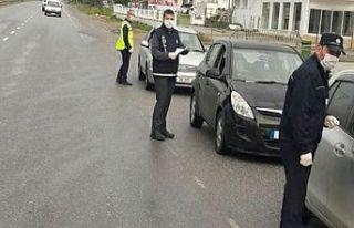 Polis denetimleri devam ediyor