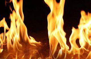 Esentepe'de ev yangını
