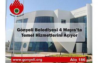 Gönyeli Belediyesi 4 mayıs'ta temel hizmetlerini...