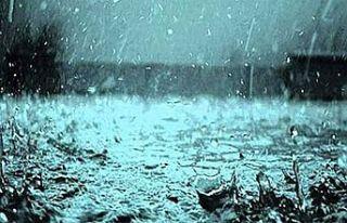 Meteoroloji Dairesi kuvvetli sağanak yağış beklendiği...