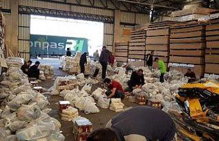 Yonpaş'tan gıda yardımı