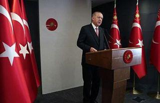 Erdoğan: 65 yaş üstüne ve 20 yaş altına kısmi...