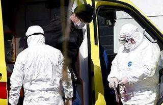 Dünya genelinde Kovid-19 tespit edilen kişi sayısı...