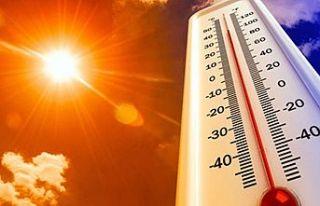 Hava sıcaklığı artıyor