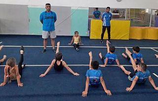 Lefkoşa Cimnastikçilerine tecrübeli antrenör