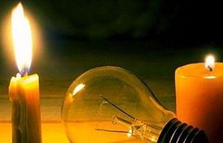 Mutluyaka'da elektrik kesintisi