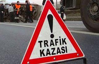 Göçeri'de traktör kazası, bir kişi yaşamını...