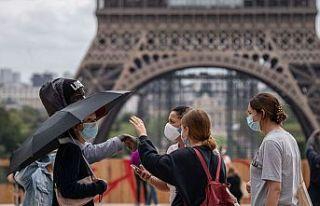 Fransa'da son 24 saatte 5 bin 413 Kovid-19 vakası...