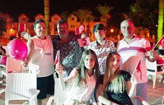 Salamis'te 'Zafer Bayramı' kutlaması