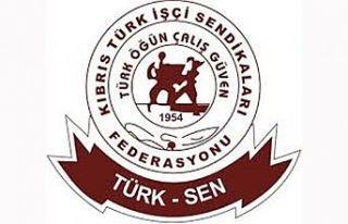 Türk-Sen'den El-Sen'e Destek