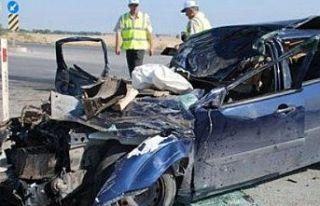 Bir haftada 64 trafik kazası meydana geldi