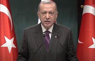 Erdoğan: AB zirvesinde Kıbrıs Türk halkının...