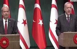 Erdoğan: Maraş'ın KKTC toprağı olduğu bir...