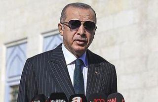 Erdoğan: S-400'ler test edildi, ABD'ye...
