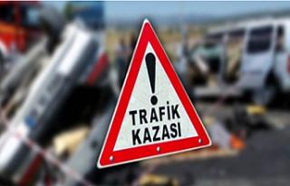 Lefkoşa'da trafik kazası: 3 yaralı