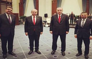 Tatar, Erdoğan ve MHP Milletvekili Erbaş, Cumhurbaşkanlığı...