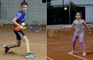 Teniste keyifli turnuva