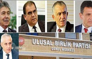UBP kurultayında 5 aday başkanlık için yarışacak