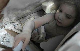 91 saat sonra Ayla bebek kurtarıldı