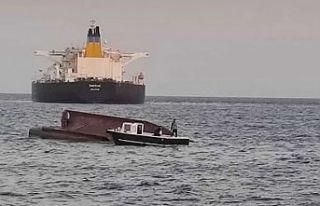Akdeniz'de Yunan Bayraklı tanker ile Türk balıkçı...