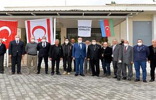Cumhurbaşkanı Ersin Tatar Mücahitler Derneği'ni...