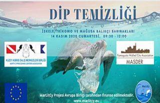 Deniz dip temizliği etkinliği düzenlenecek