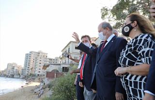 Ersin Tatar: 46 yıldır kapalı olan bölgeyi daha...