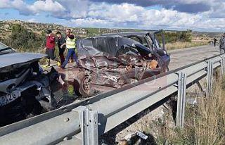 Kumyalı'da ölümü trafik kazası