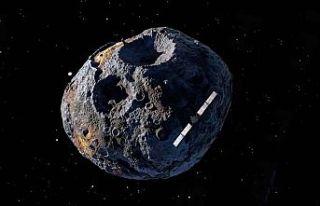 NASA gözünü 10 kentrilyon dolarlık gök taşına...