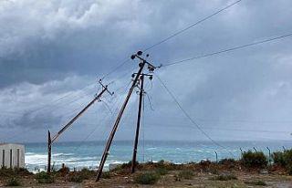 Olumsuz hava nedeniyle Teknecik'deki santraller...