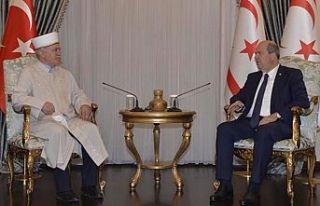 Cumhurbaşkanı Tatar, Din İşleri Başkanı Atalay'ı...