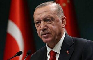 Erdoğan: AB'den yaptırım değil, yıllardır...
