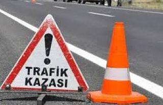 Gazimağusa'da trafik kazası: 1 kişi ağır yaralandı