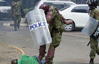 Kenya'da 2020 yılında 144 kişi polis şiddetinin...