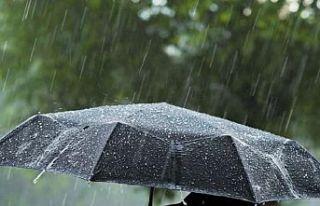Pazardan itibaren çarşambaya kadar yağmur bekleniyor